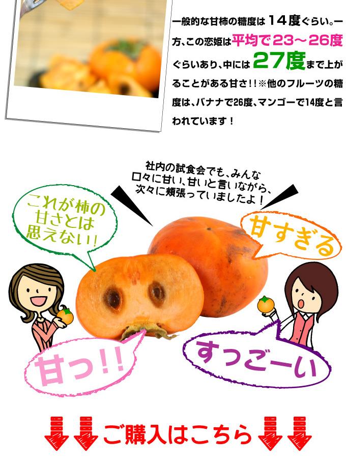 とにかく甘い柿 恋姫