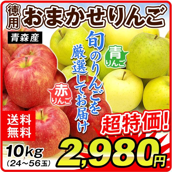 青森徳用おまかせりんご10kg