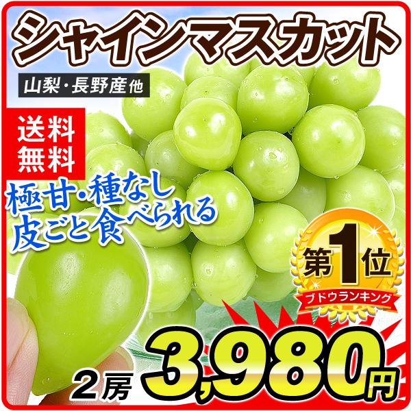シャインマスカット3980円