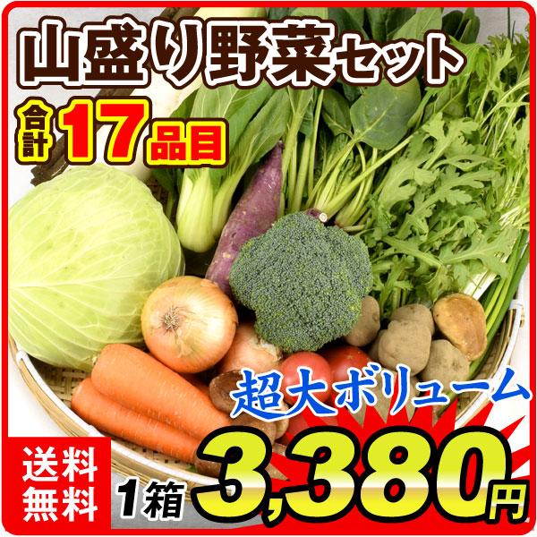 山盛り野菜セット