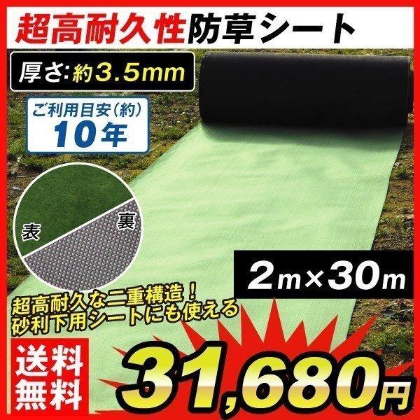 防草シートフェルト2x30