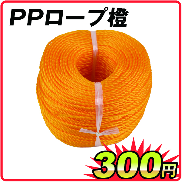 PPロープ橙