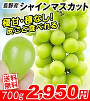 長野シャインマスカット700g