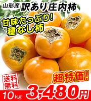 訳あり庄内柿10kg