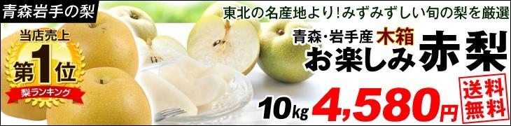 お楽しみ赤梨10kg