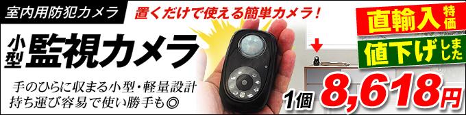 超小型監視カメラ