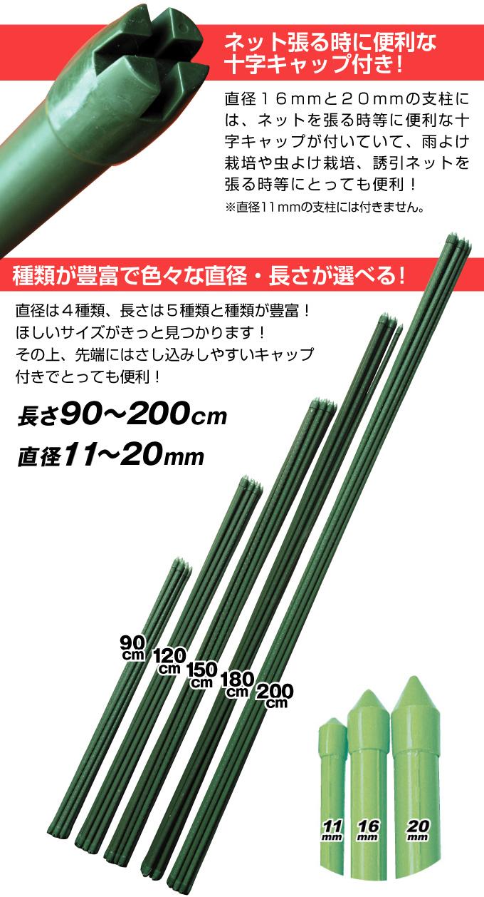 イボ付鋼管製支柱