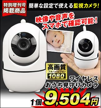 見守りカメラ200万
