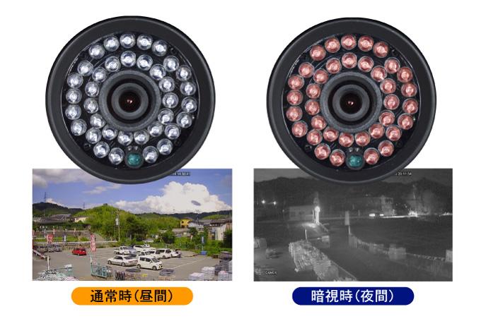 高精細200万画素防犯カメラ・4台セット12