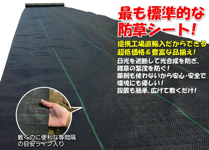 防草シート・黒02