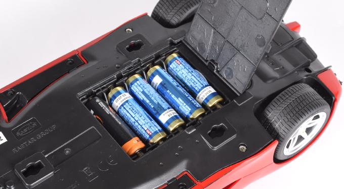 ラ・フェラーリ・電池