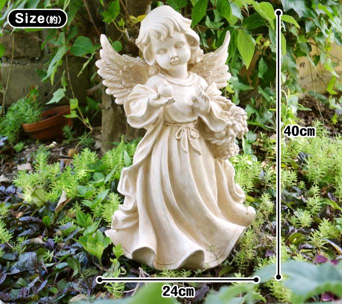 ポリ_りんごを持つ天使・サイズ