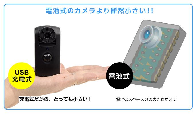 小型防犯カメラ