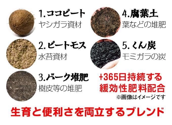 かる~い培養土使用図