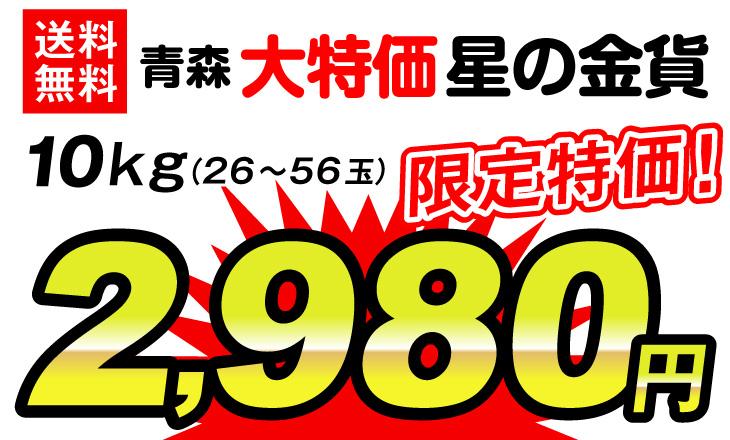 星の金貨・2980円