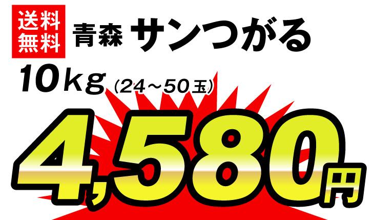 サンつがる10g・4580円