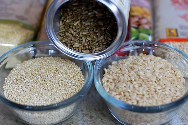 いろんな種類の雑穀