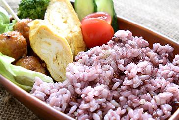 雑穀米弁当